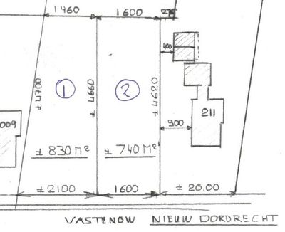 Vastenow 2102, Nieuw-Dordrecht