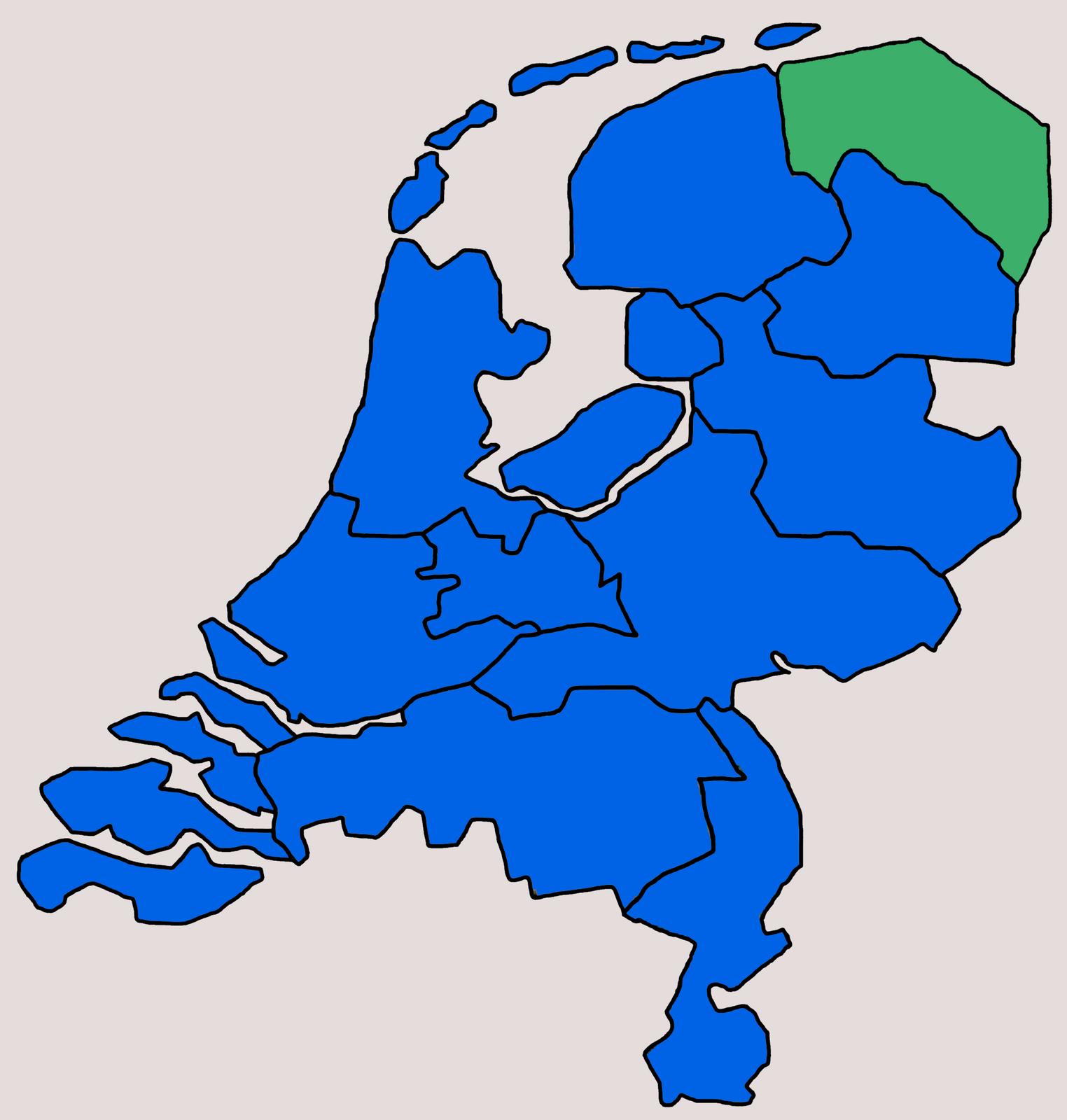 Beschikbare Kavels Groningen 1, Lauwersoog