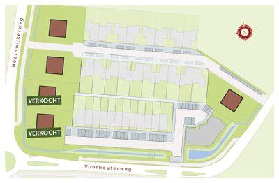 Landwaard, bouwnummer 35 0-ong, Rijnsburg