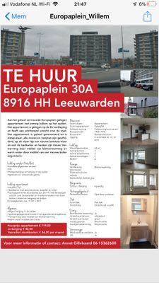 Europaplein, Leeuwarden