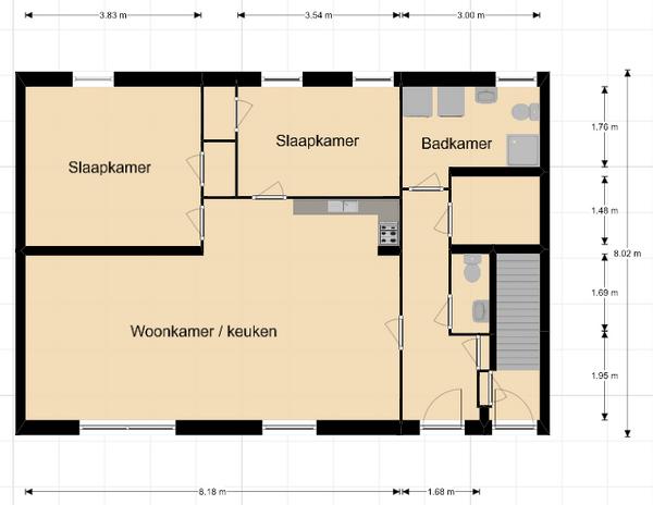 Molenwijk Westzijde 1B, Klazienaveen