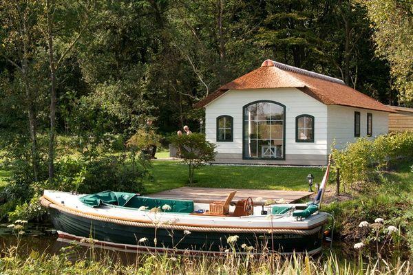 Langwarderdyk 4 recreatiewoning in sint nicolaasga for Huizen te koop friesland