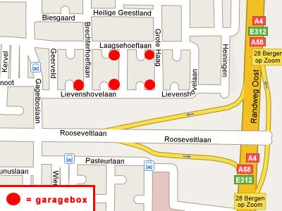 Lievenshovelaan 54G, Bergen Op Zoom