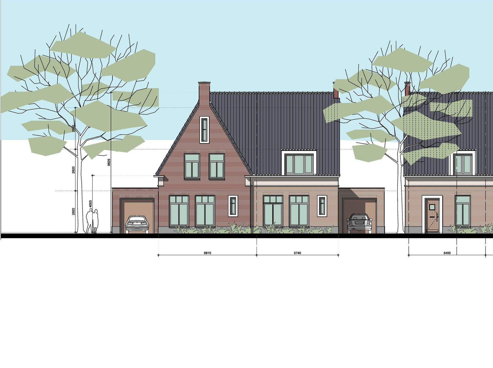 Samen bouwen in Rodenburg, tussenwoning 0-ong, Heeswijk-dinther
