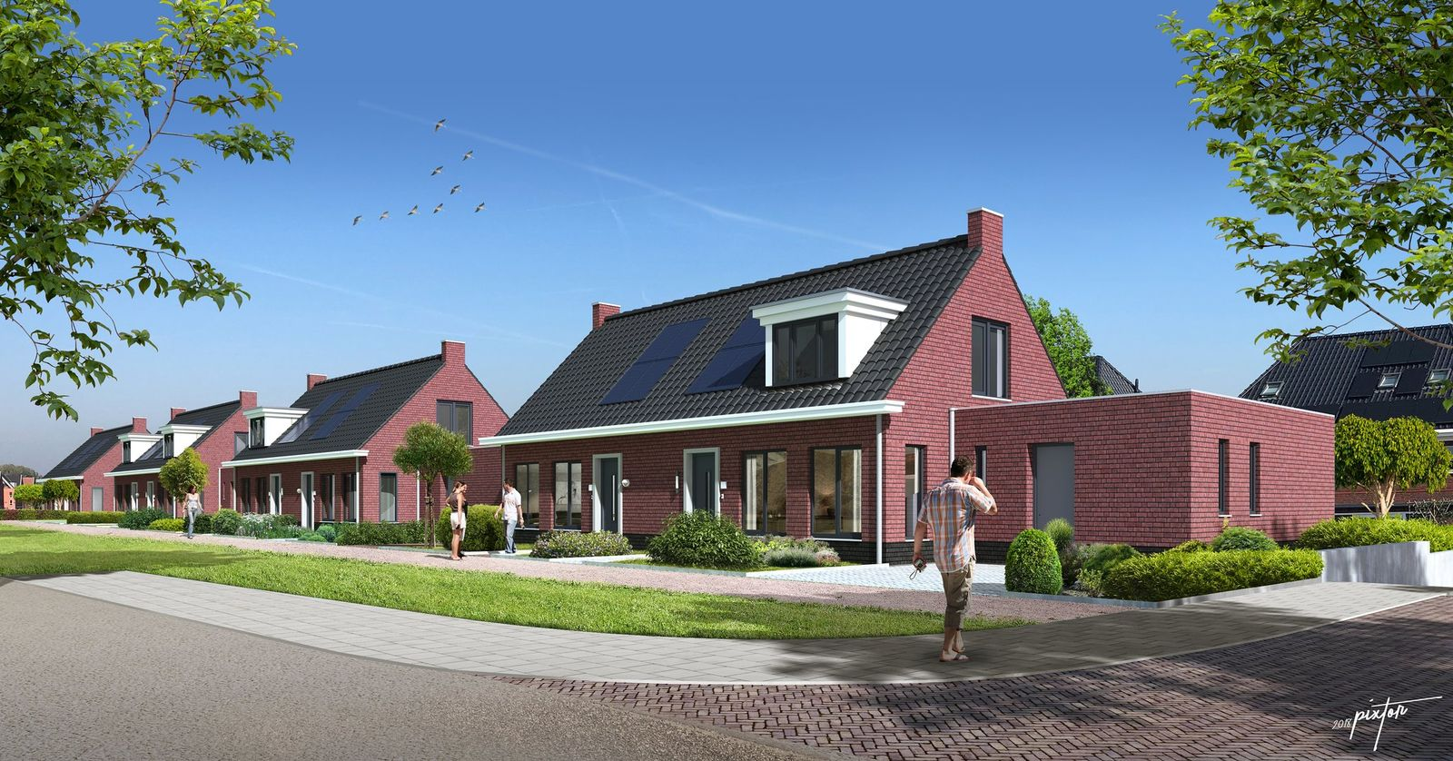 Mauritz Kwartier Fase 2 0-ong, Steenbergen
