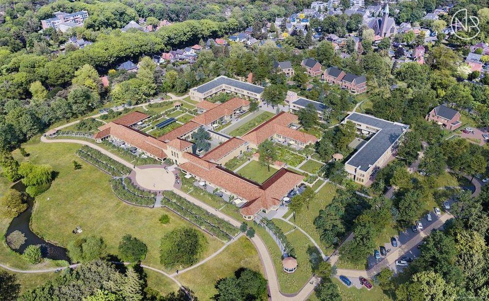 Verspreide huizen bosgebied, Ermelo