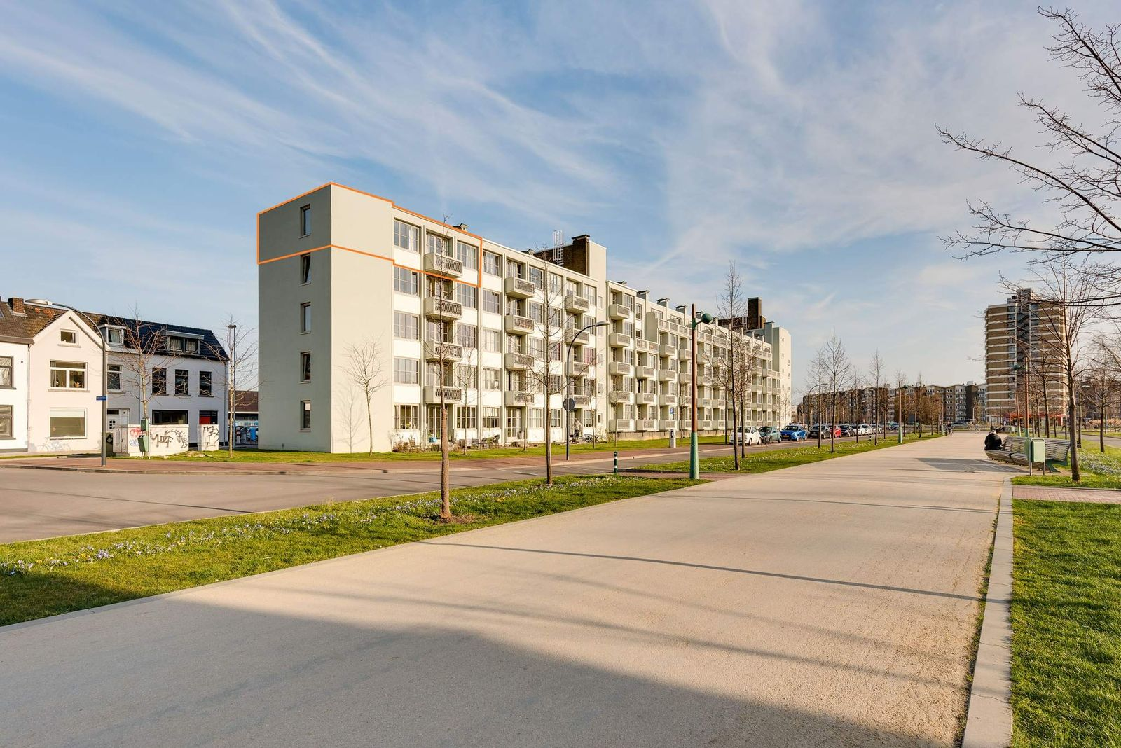 Koningsplein flat 117-E, Maastricht
