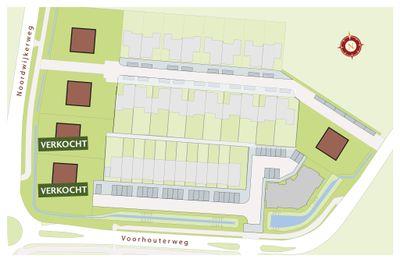 Landwaard, bouwnummer 34 0-ong, Rijnsburg